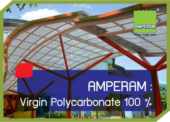 AMPERAM Virgin Polycarbonate 100%