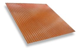 สีมาตรฐานกันสาดดีไลท์สีส้มทอง<br>Gold Orange