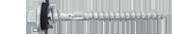 สกรูอาร์เร็กซ์T17 12-11X65 HEX W